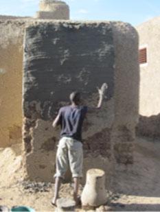Natural Plaster Wall 2