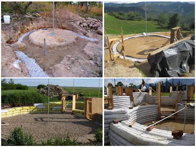 Earthbag Home Center-point Establishment