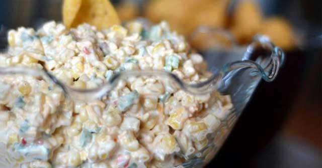 Southwestern Corn Dip, Corn Recipes, One Community
