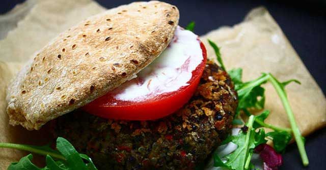 Best Black Bean Burger, bean recipes, One Community