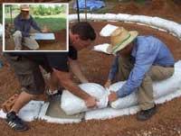 Using the Earthbag Slider