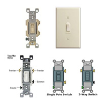 toggle switch, switches, 3-way switch