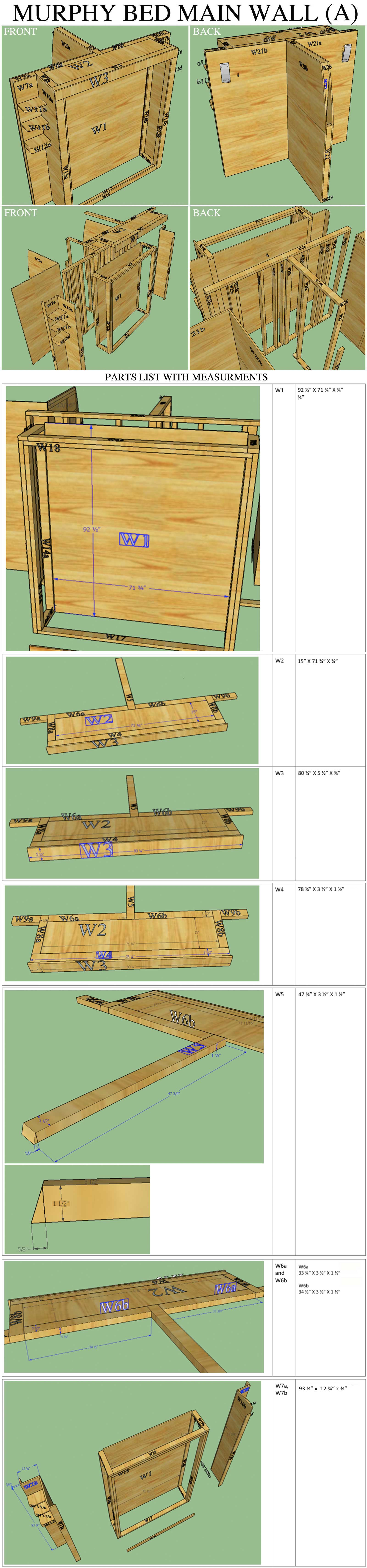 Furniture diy open source dome home furniture plans cost assembly main wall overview and top main wall a amipublicfo Image collections