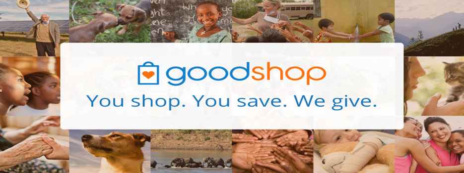 Using Goodshop to Raise Money at No Cost to You, Goodshop Header