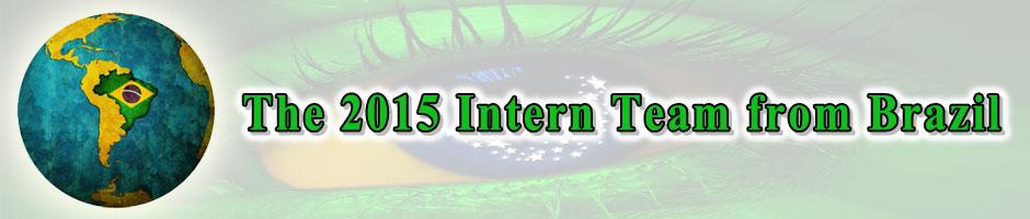 Team Brazil, 2015 Intern Team Brazil