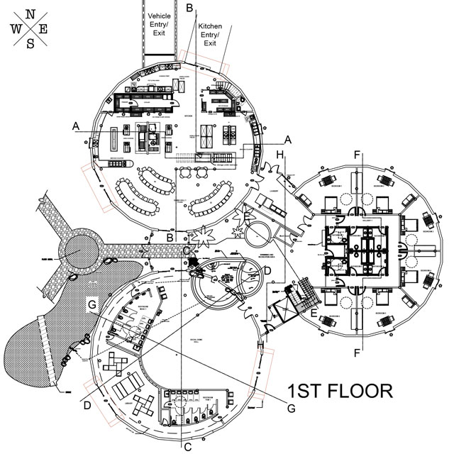 Open source eco house plans for Floor plan open source