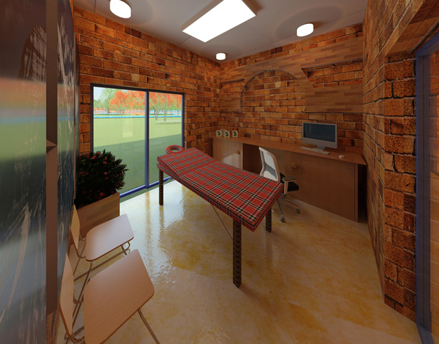 Compressed Earth Block Village Massage Room Looking South, Hamilton Mateca, One Community blog 236