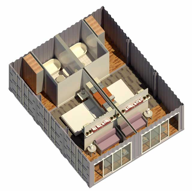 198d3f5c81692841 Adirondack Modular Log Cabin 1 Bedroom Modular Cabin in addition Projects all besides 388013324130899227 furthermore Shipping Container Village also Process. on home designs and floor plans
