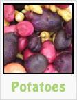 potatoes. red potatoes, white potatoes, purple potatoes, gardening, planting, growing, harvesting, one community, recipes