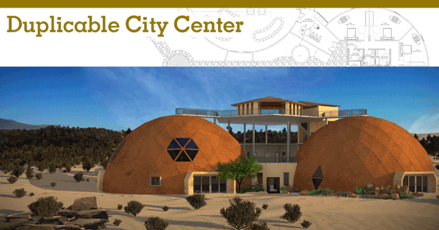 Duplicable City Center, One Community, Eco-living, Green Living, Eco-Tourism, duplicable city center, open source city hub, laundry, dining, swimming pool, hot tub, kitchen, library, game room
