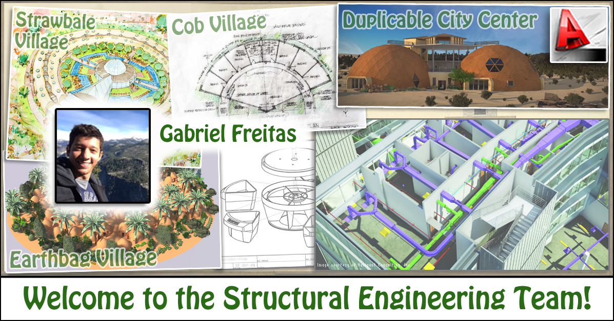 Structural Engineering Team : One community welcomes gabriel freitas to the structural