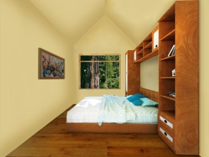Tree House Village Interior- Bedroom