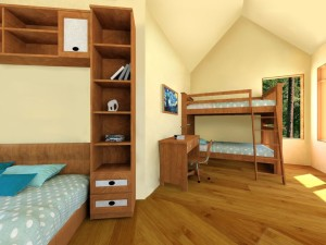 Interior of the Tree House Village Children's Room
