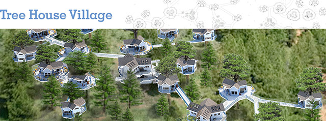 The core team also finished working on the complete Tree House Village (Pod 7) render and header images and updated the website with the finalized versions.