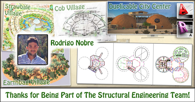Structural Engineering Team : One community thanks rodrigo for being part of the