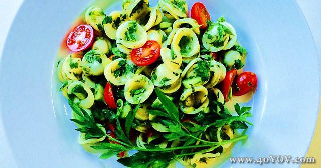 Tabbouleh Style Pasta Salad