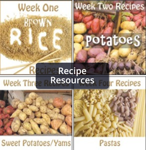 Weekly Recipes Collage