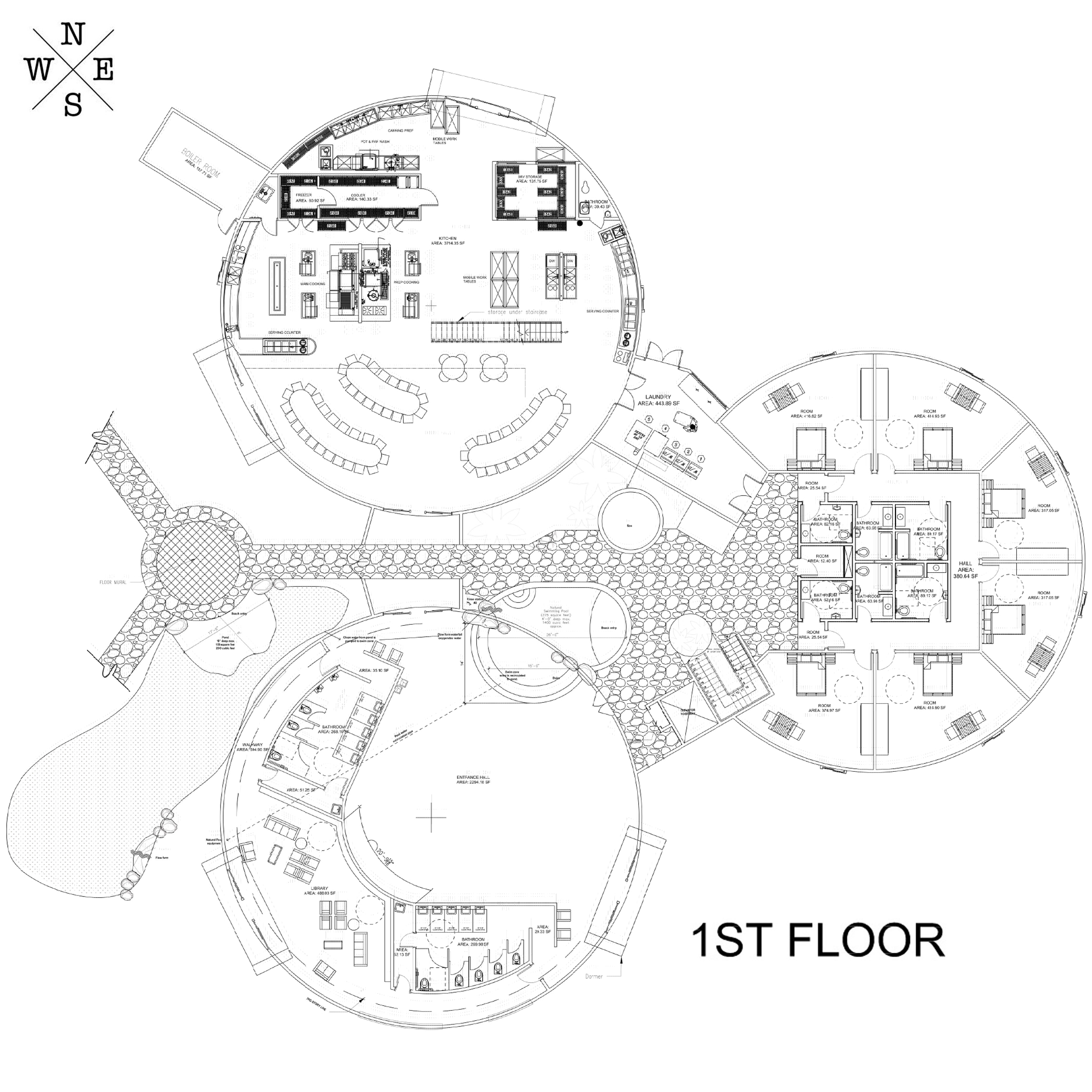 Basic Dome Home S Interior Plans: Open Source LEED Platinum Eco