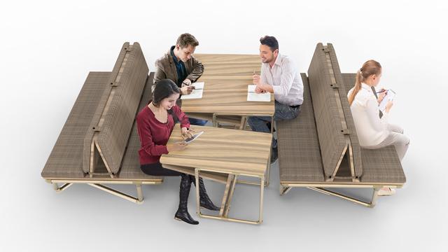 Sofa 3, pipe furniture