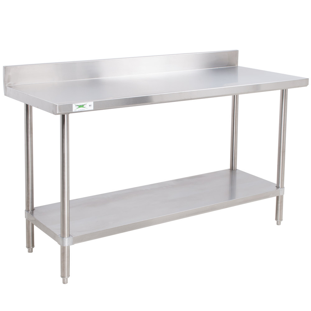Stainless Commercial Work Table with Undershelf, One Community