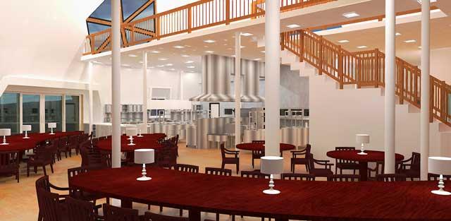 Columns Design Kitchen