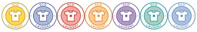 The core team created 7 new eco-laundry icons