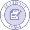 Highest Good Education Icon, Education Assessment Forms