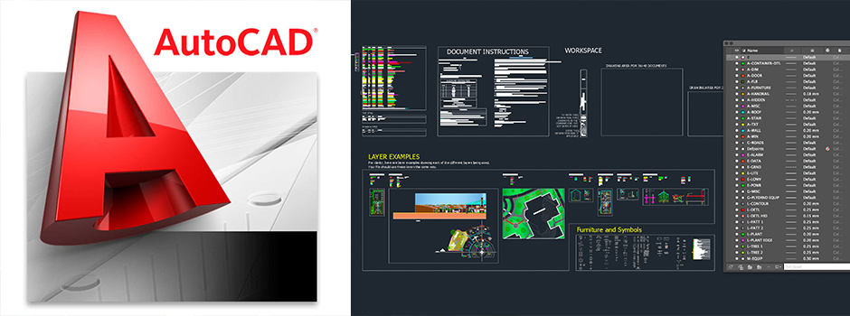 Open source autocad template tutorial dwg file download Opensource cad dwg