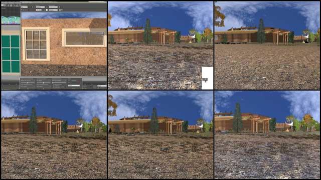 Cob village test perspectives, One Community, Dean Scholz