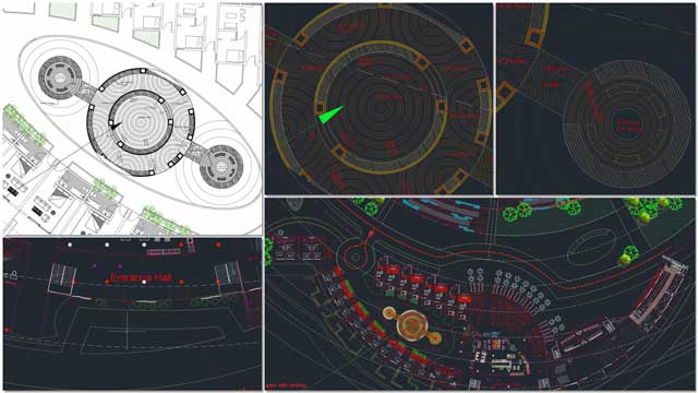 Aparna Tandon (Architect) additionally continued her work on the Compressed Earth Block Village external elements. What you see here is her 7th week of work, focusing on updates to the code-compliant fire road and beginning to develop the details of the central play area.