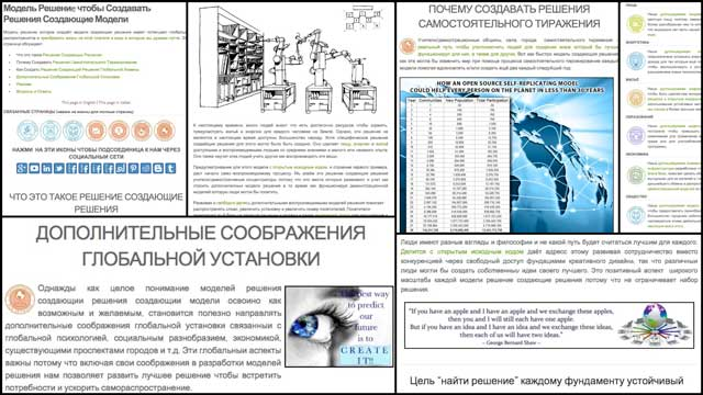 Vassili Biserov (Writer, Poet and Translator) also finished translating our Solution Models to Create Additional Solution-creating Models page into Russian.