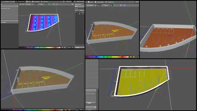 This week Dipti Dhondarkar, (Electrical Engineer) continued with her 28th week of work on the lighting specifics for the City Center. This week's focus was continuing the process of learning how to use the Dialux software, modeling the City Center Social Dome bathrooms, and continuing lighting testing with different floor and wall colors.