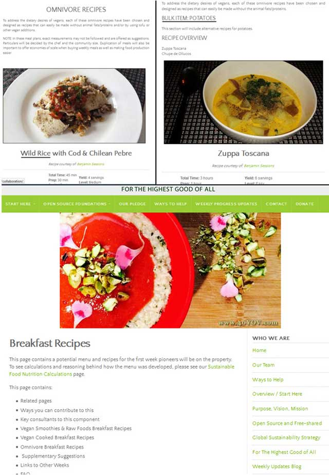 """This week, the core team organized recipes on the omnivore recipe pages for our Transition Kitchen strategy, and created a """"breakfast recipes"""" page."""