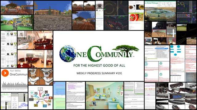 Regenerative Community Building - One Community Weekly Progress Update #191