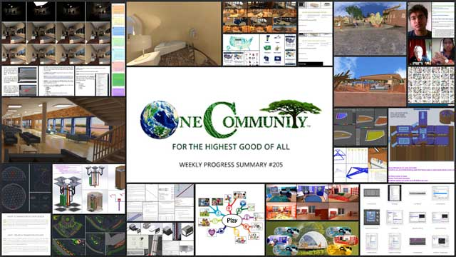 Creating a Global Sustainability Collaborative - One Community Weekly Progress Update #205