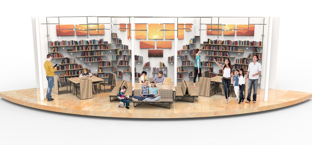 Duplicable City Center Library Final Render Iris Hsu