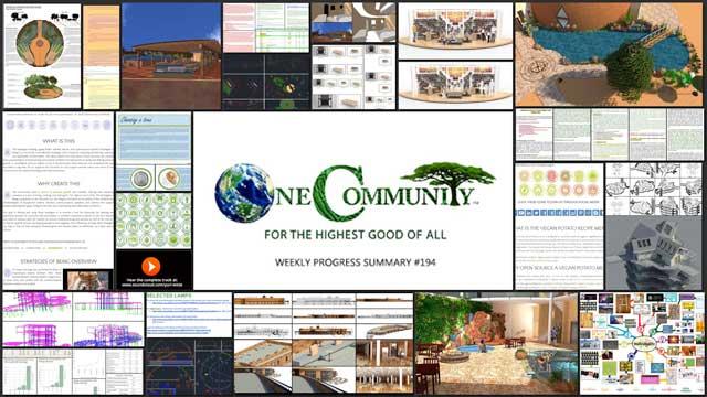 Facilitating Global Eco-Cooperatives - One Community Weekly Progress Update #194