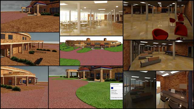 Hamilton Mateca (AutoCAD and Revit Drafter and Designer) also finished his 27th week helping with the Compressed Earth Block Village (Pod 4) design details. This week's focus was continued lighting details and further development of the external village specifics.