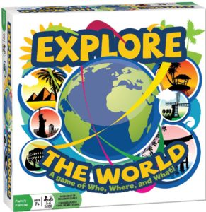 Explore the World Board Game