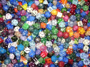 Multicolor and Denomination Dice