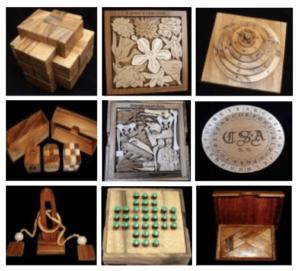 Wood Brain-Bending Puzzle