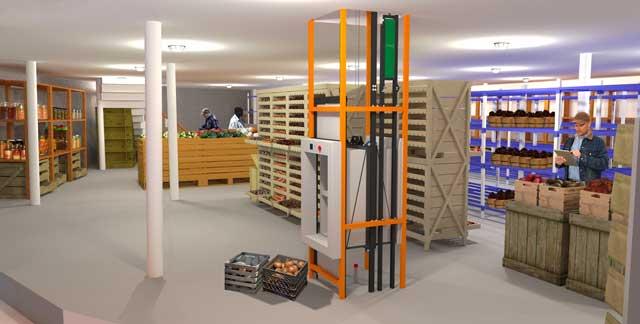 Guy Grossfeld (Graphic Designer) further developed the City Center root cellar render.