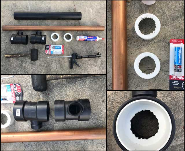 One Community, Heat Exchanger test parts before assembly