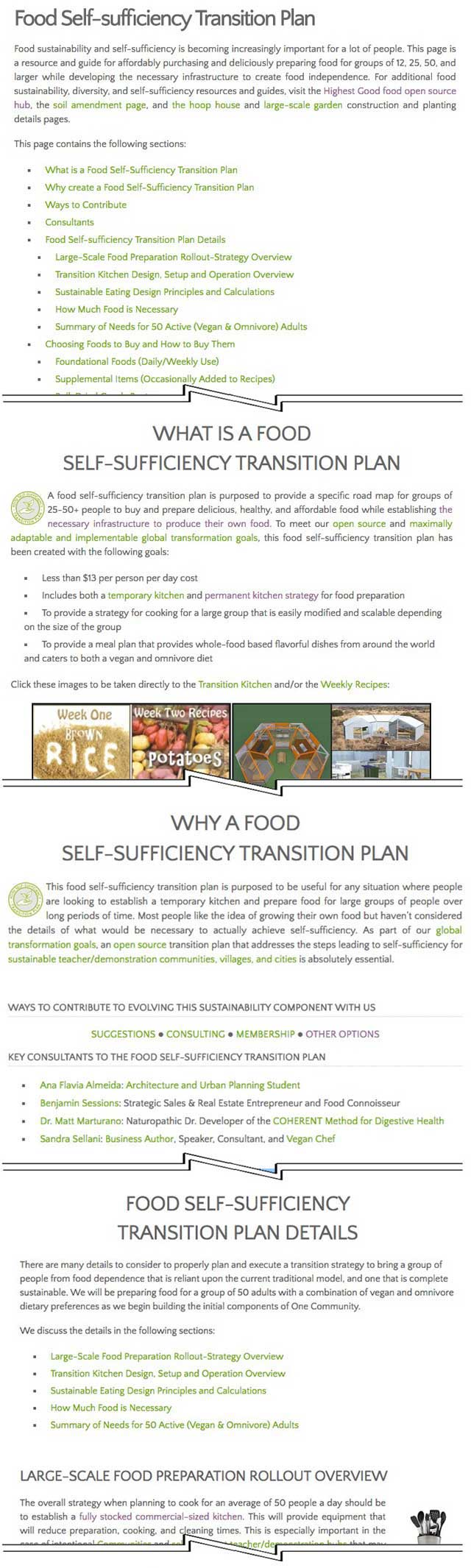 Working with Jennifer Zhou (Web Designer), we also completed edits and reorganization of the Food Self-sufficiency Transition Plan page, bringing that page to 90% completion, which you can see here.
