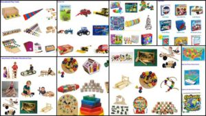 And Jennifer Zhou (Web Designer) helped create all these images for what will be organized sections on the Learning Tools and Toys page.