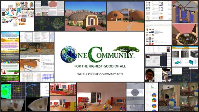 Facilitating Global Eco-Collaboratives - One Community Weekly Progress Update #209