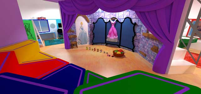 Ultimate Classroom, Purple room, We also continued creation of renders for The Ultimate Classroom, adding items and updating textures for the purple room, as shown here.