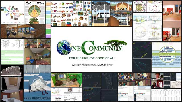 Advancing Ecological Living One Community Progress Update #207