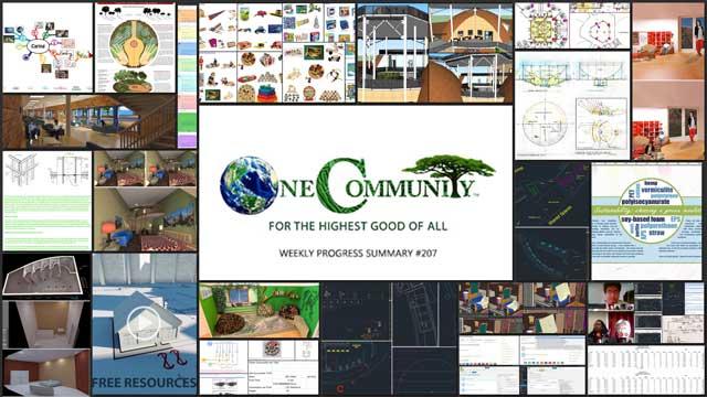 Advancing Ecological Living One Community Progress Update #207