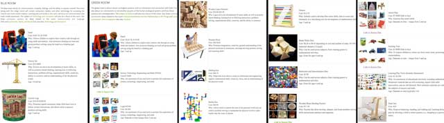 Jennifer Zhou (Web Designer) completed her second round of edits and image additions and description for the Learning Tools and Toys page.